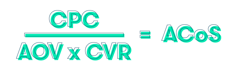acos calculation formula